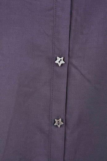Maison Scotch Bluse Bluse aus Viskose mit Sternknöpfen