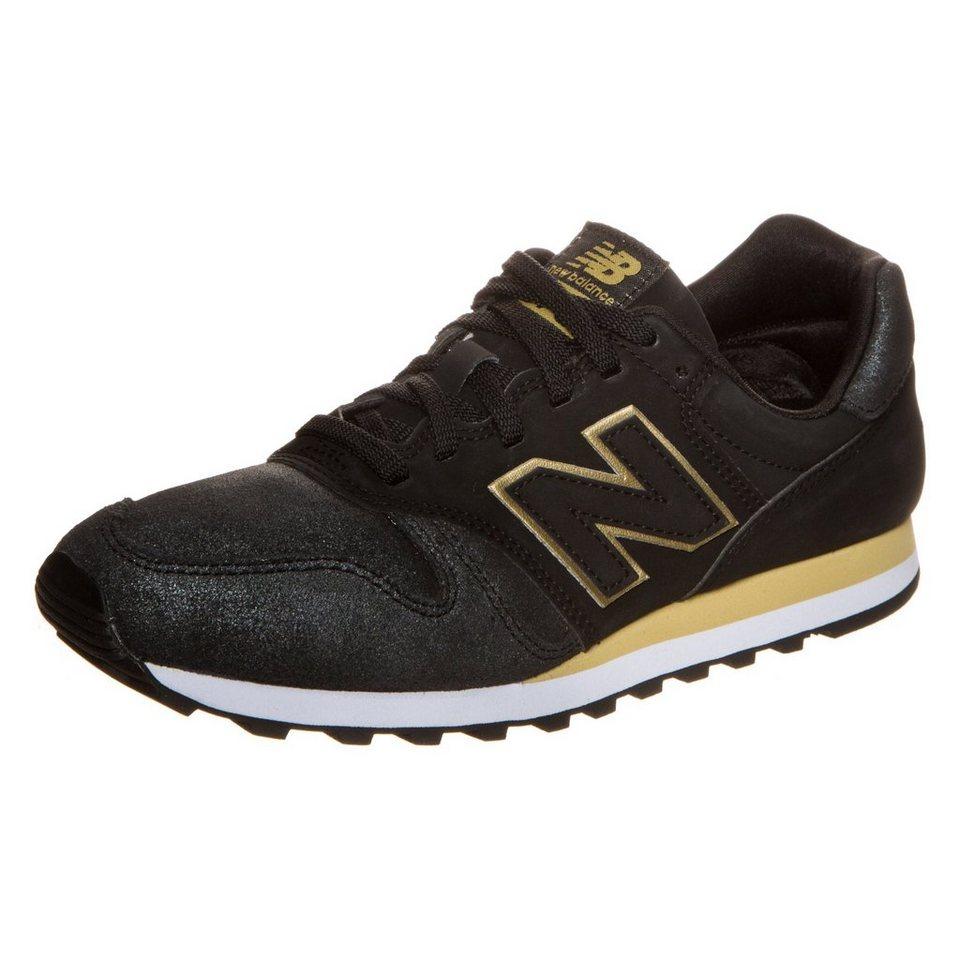 NEW BALANCE WL373-NG-B Sneaker Damen in schwarz / gold