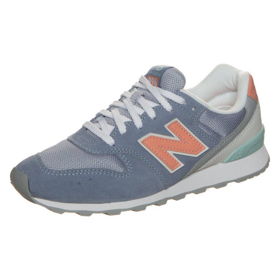NEW BALANCE WR996-JG-D Sneaker Damen in blau / rosa / mint