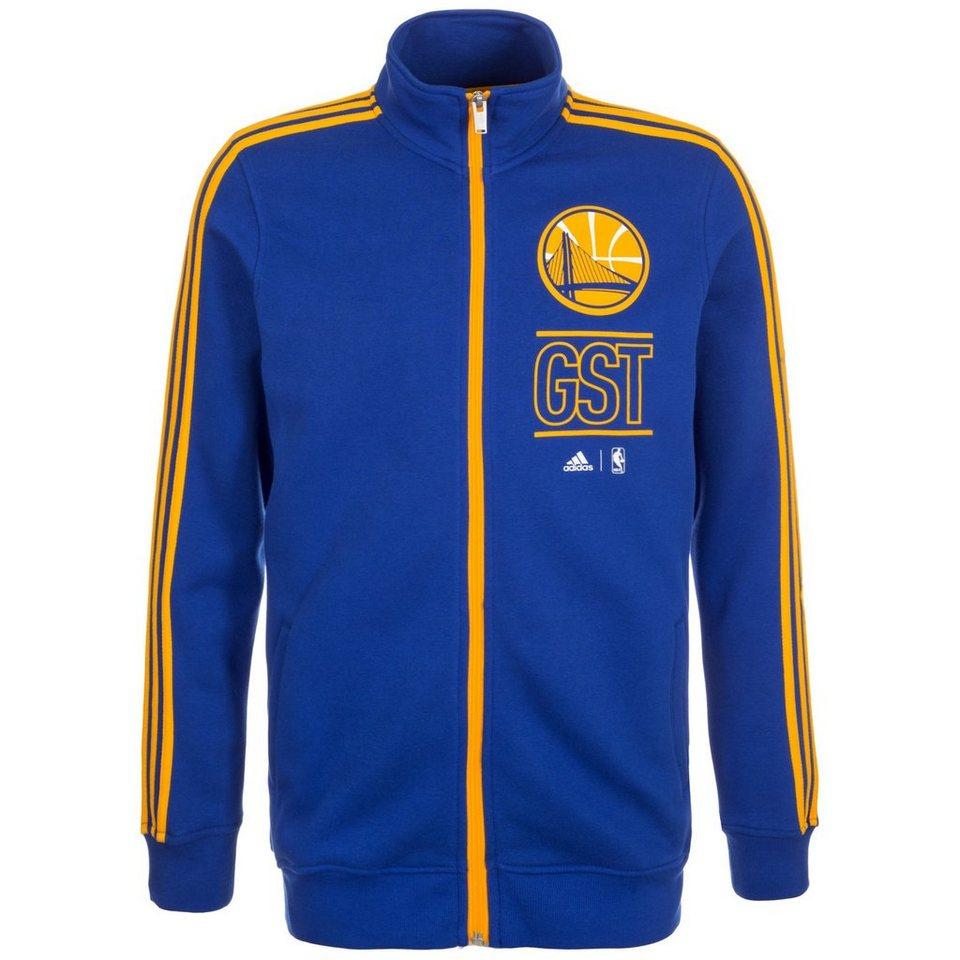 adidas Performance Golden State Warriors Basics Trainingsjacke Herren in blau / gelb
