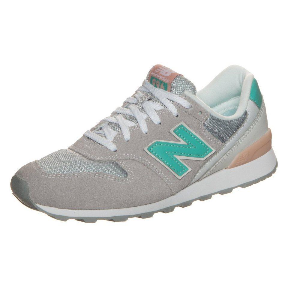 NEW BALANCE WR996-JH-D Sneaker Damen in grau / türkis