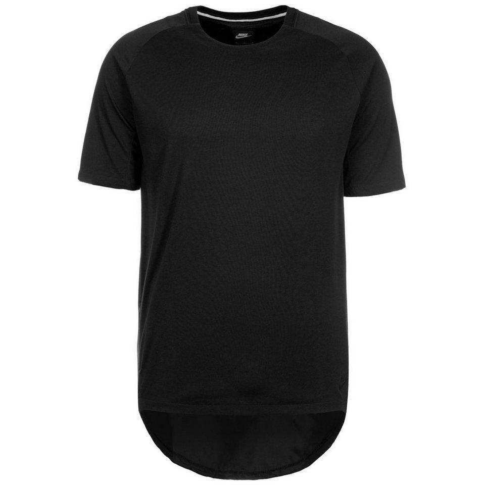 Nike Sportswear Bonded T-Shirt Herren in schwarz