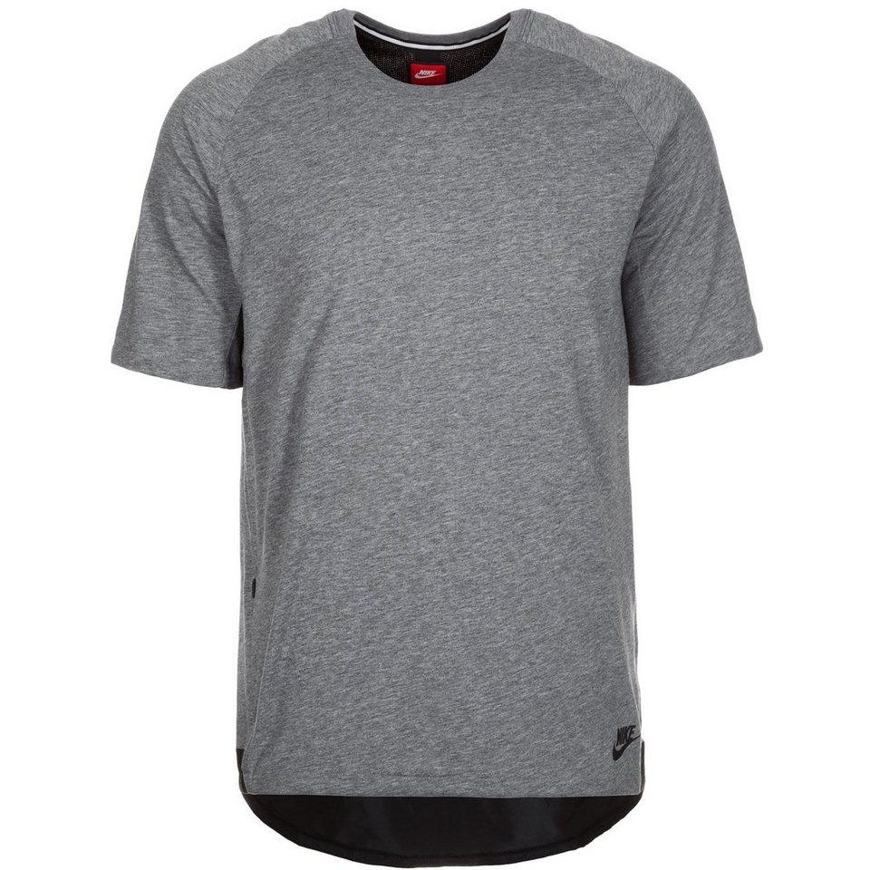 Nike Sportswear Bonded T-Shirt Herren in grau / schwarz