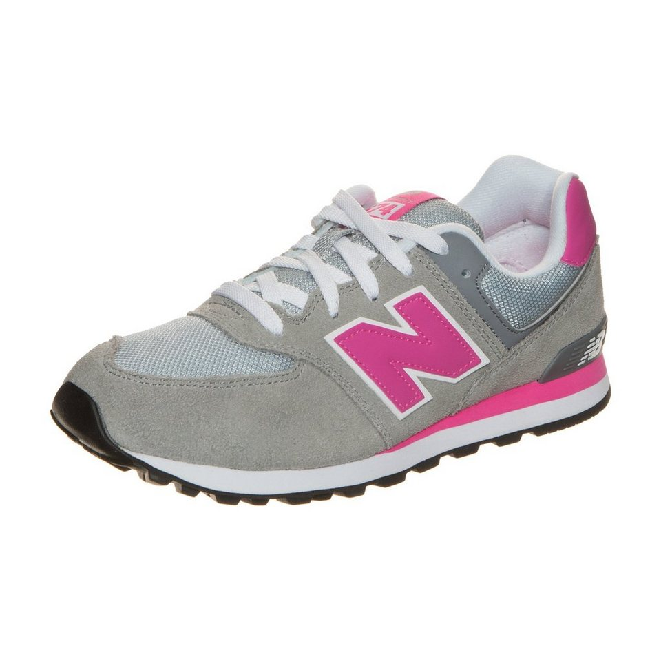 NEW BALANCE KL574-CDG-M Sneaker Kinder in grau / pink