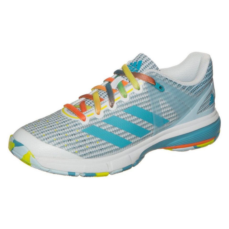adidas Performance Court Stabil 13 Handballschuh Damen in hellblau / weiß