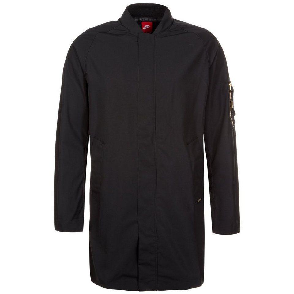 Nike Sportswear F.C. Jacke Herren in schwarz / petrol