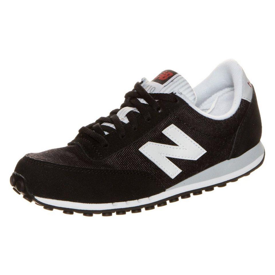 NEW BALANCE WL410-NPB-B Sneaker Damen in schwarz / weiß