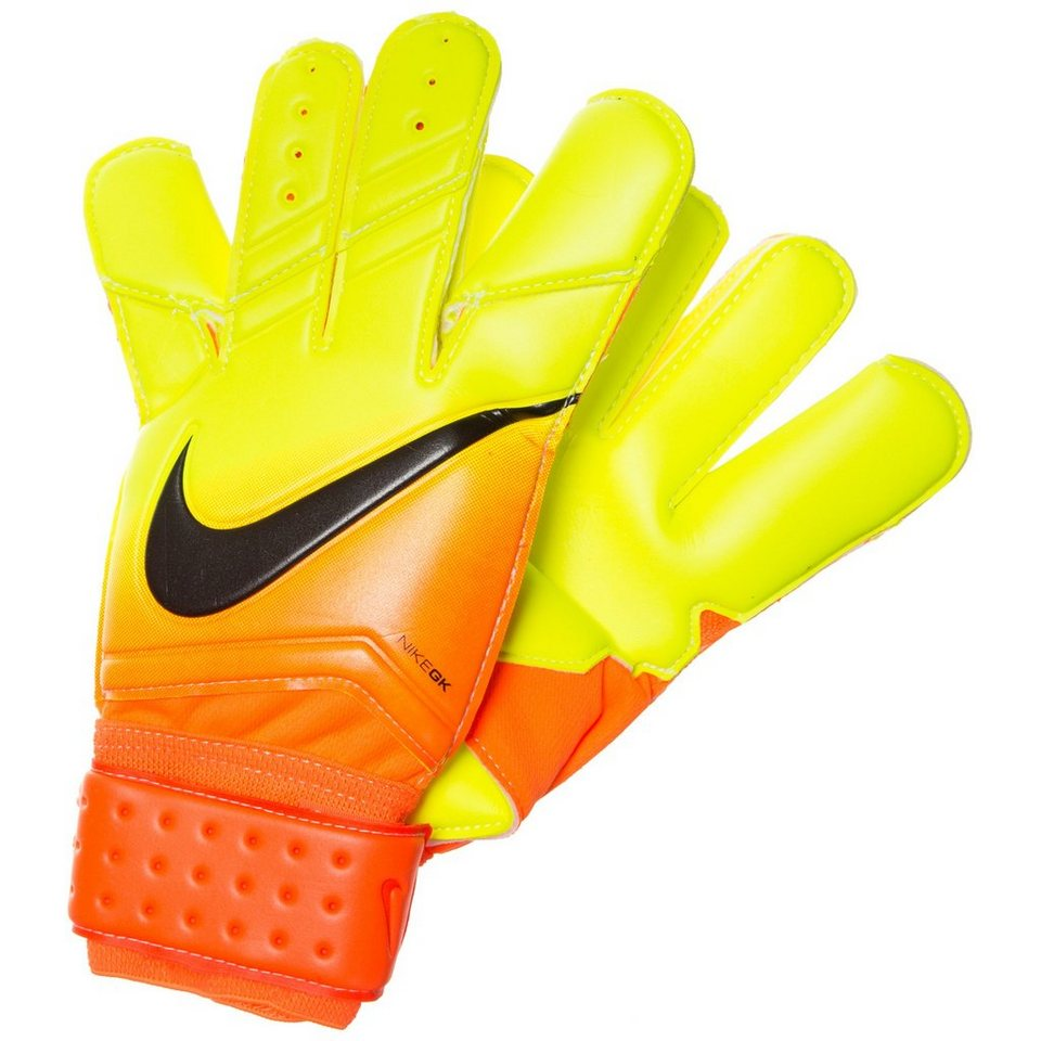 NIKE Vapor Grip 3 Torwarthandschuh Herren in orange / neongelb