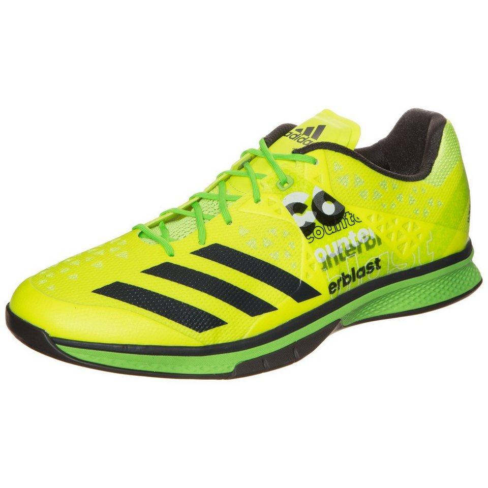 adidas Performance Counterblast Falcon Handballschuh Herren in gelb / grün