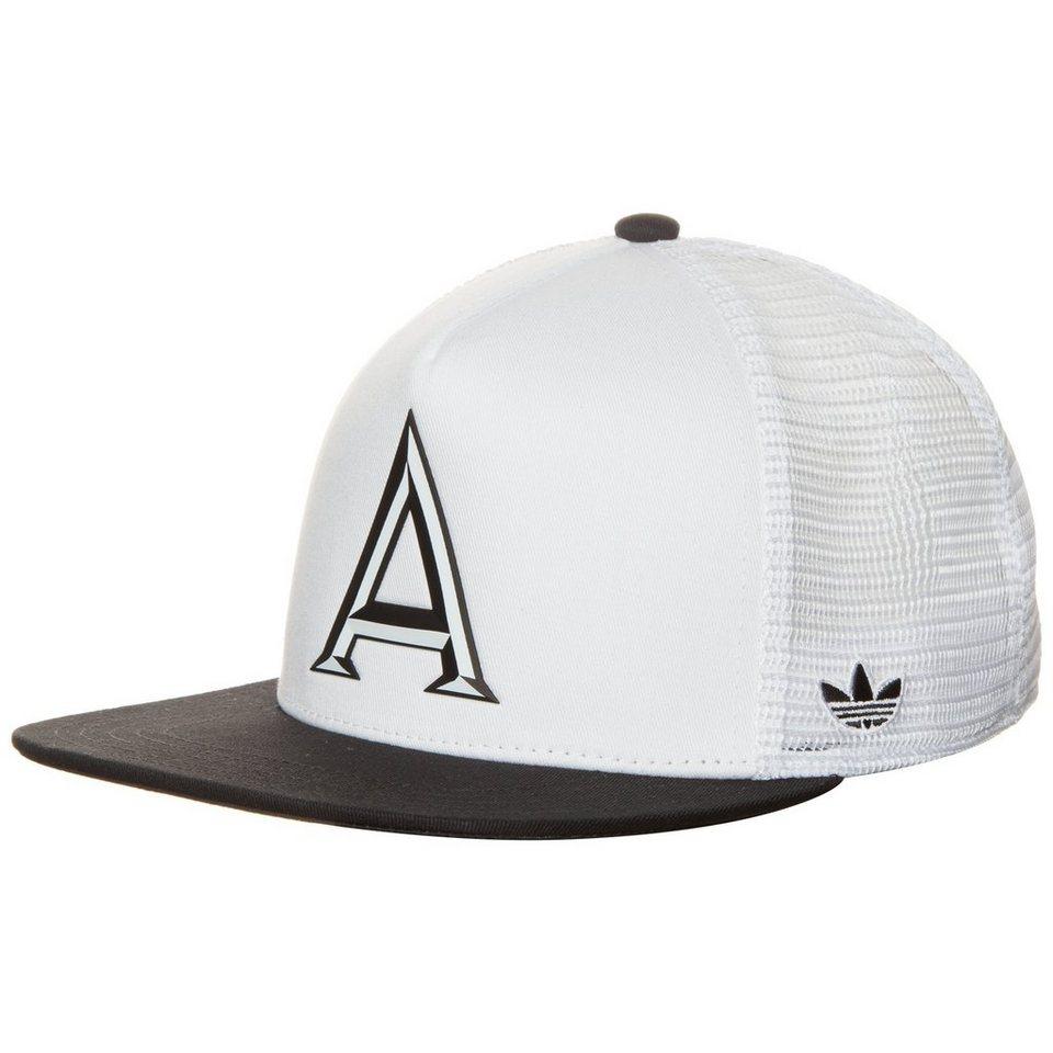 adidas Originals Trucker Black & White Cap in weiß / schwarz