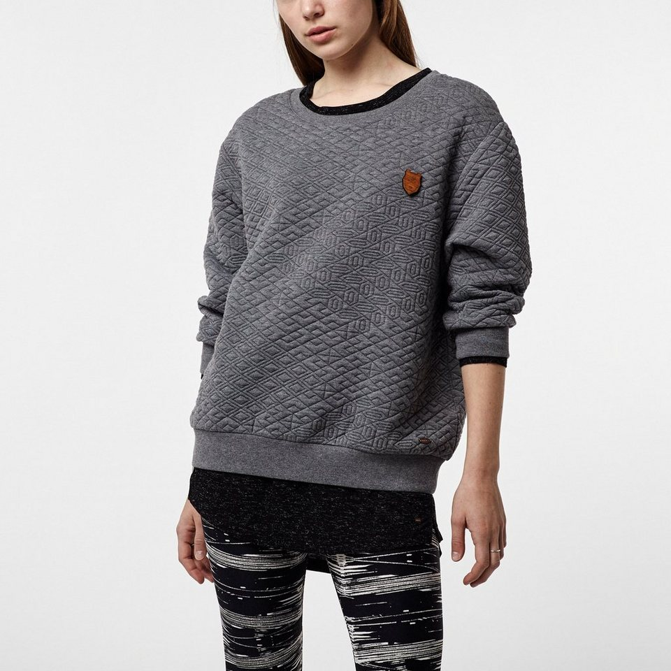 O'Neill Sweat »Quilted Crew« in Grau meliert