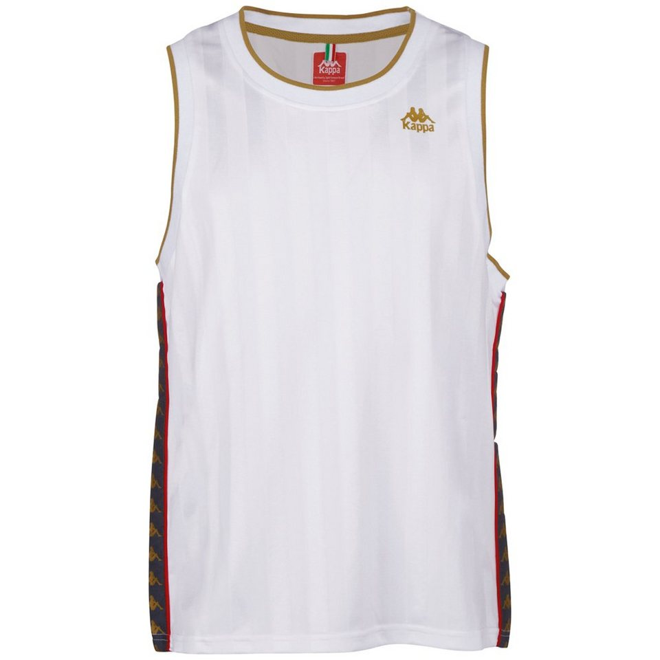 KAPPA Tank Top »EDGAR« in white