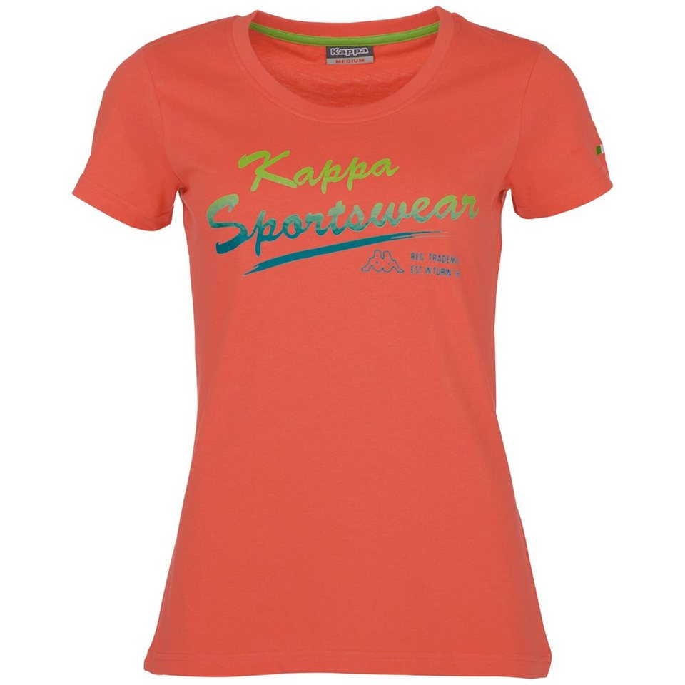 KAPPA T-Shirt »ZOFIA« in cayenne