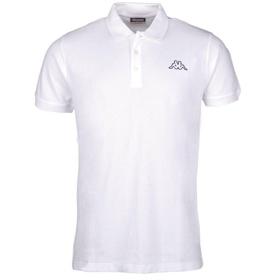 KAPPA Poloshirt »SAMUL« in white
