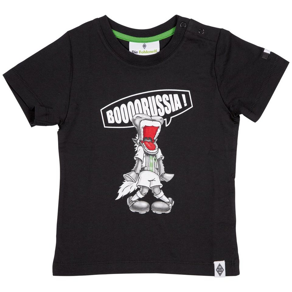 KAPPA T-Shirt »Borussia Mönchengladbach T-Shirt Kids« in black
