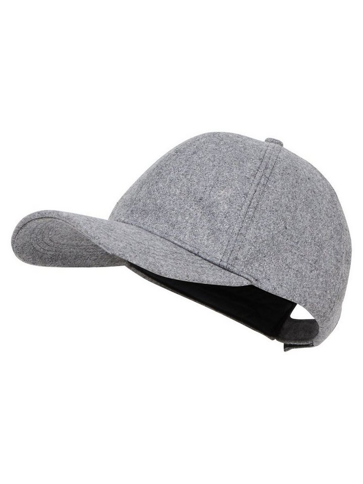 Only Woll- Cap in Light Grey Melange