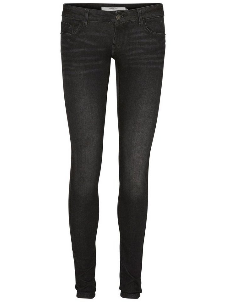 Vero Moda One SLW Skinny Fit Jeans in Black