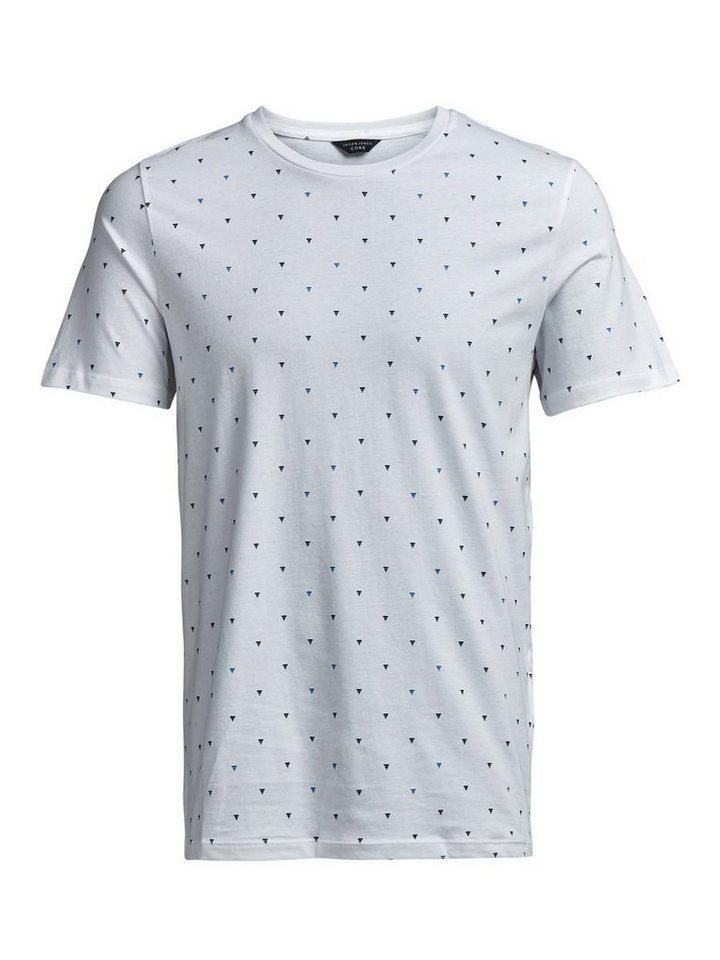 Jack & Jones Komplett bedrucktes T-Shirt in White