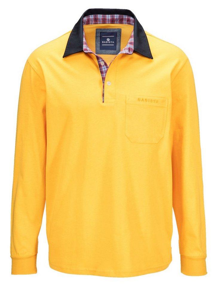 Babista Poloshirt in maisfarben