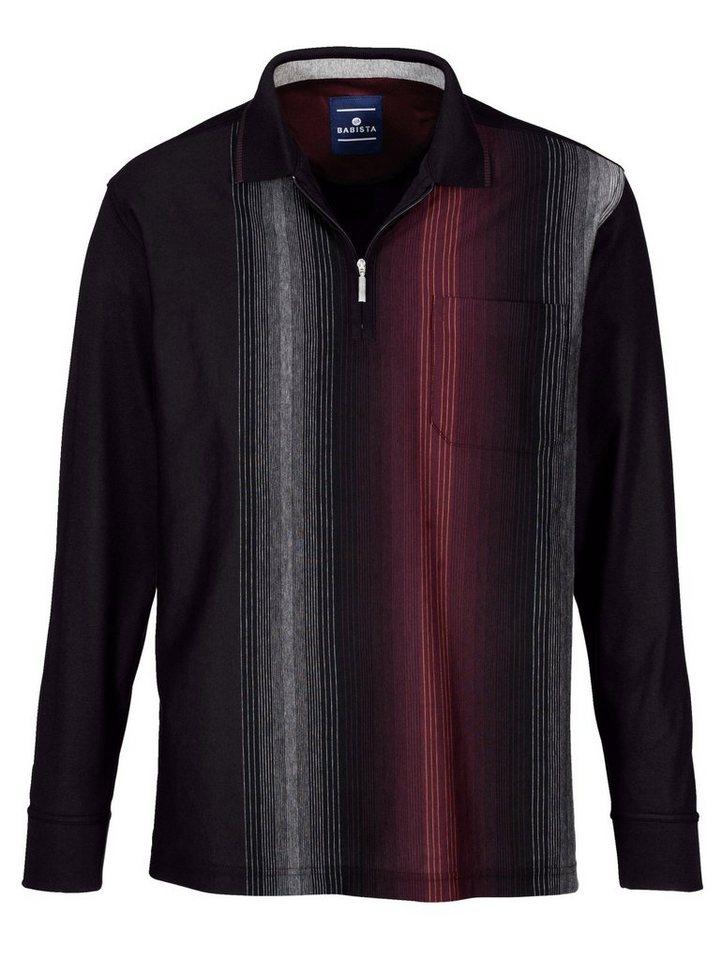 Babista Poloshirt in bügelfreier Qualität in anthrazit