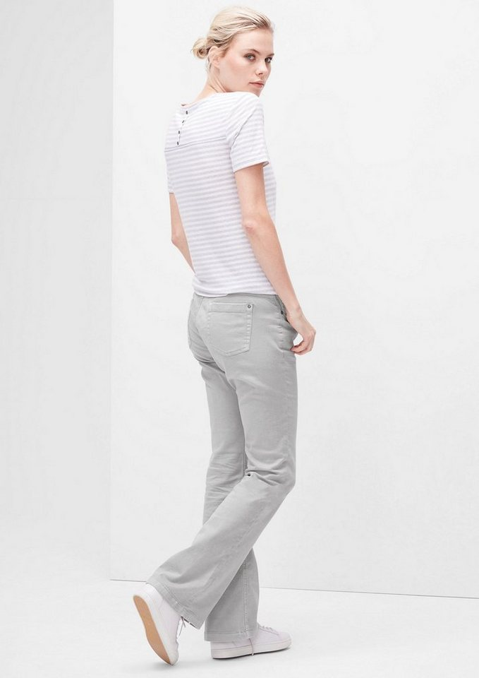 s.Oliver RED LABEL Shape Bootcut: Colored Denim in grey