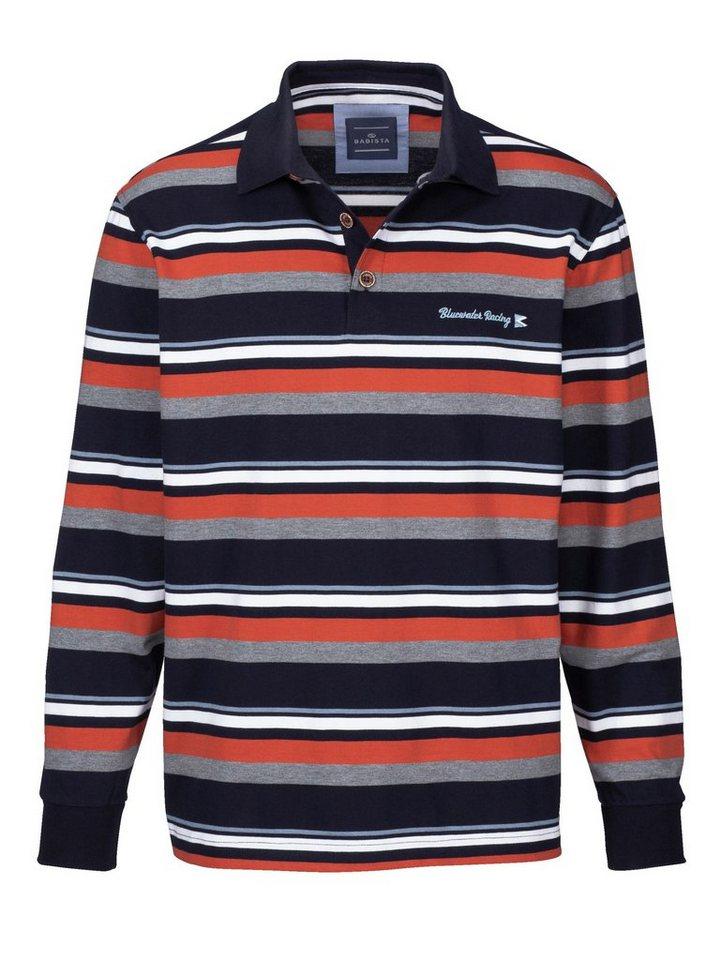 Babista Sweatshirt in marine-rostrot