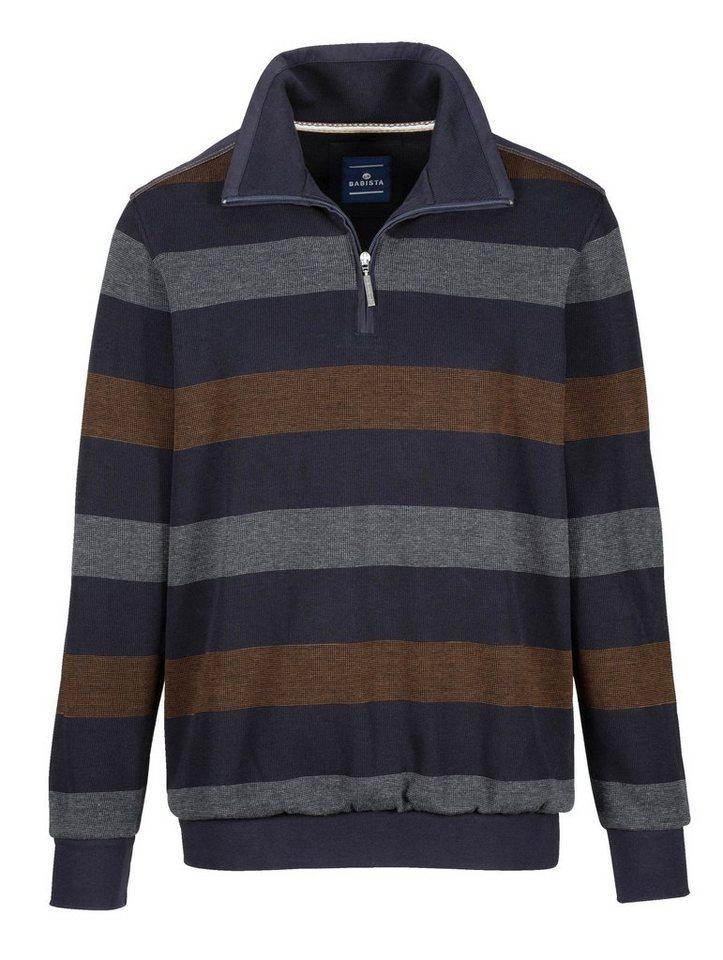 Babista Sweatshirt in marine-braun