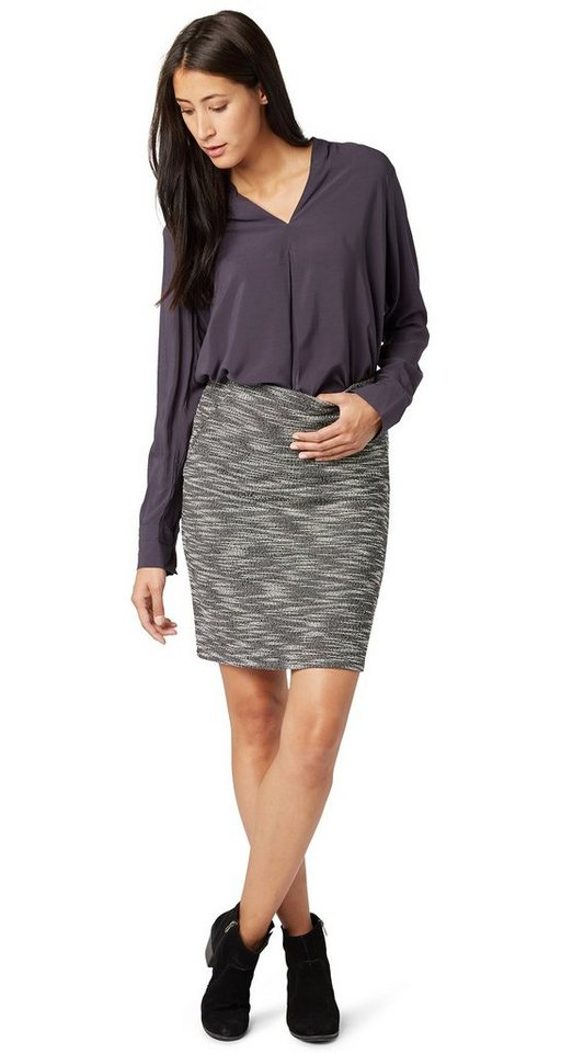 TOM TAILOR Rock »comfortable feminin skirt« in black