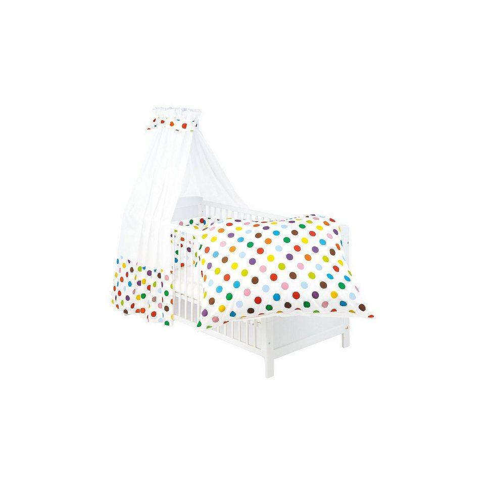 Pinolino Bettset Dots, 3-tlg. in mehrfarbig