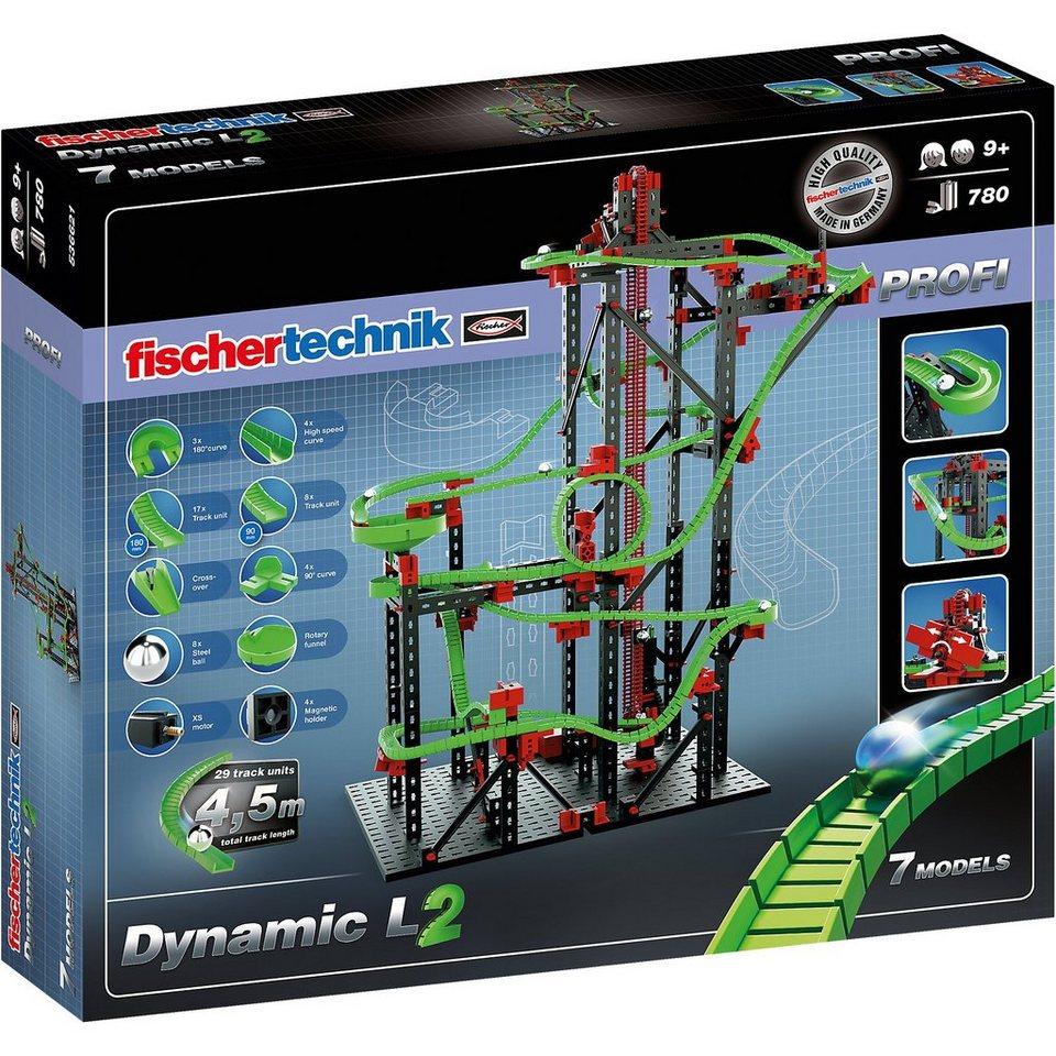 "fischertechnik PROFI Kugelbahn ""Dynamic L²"""