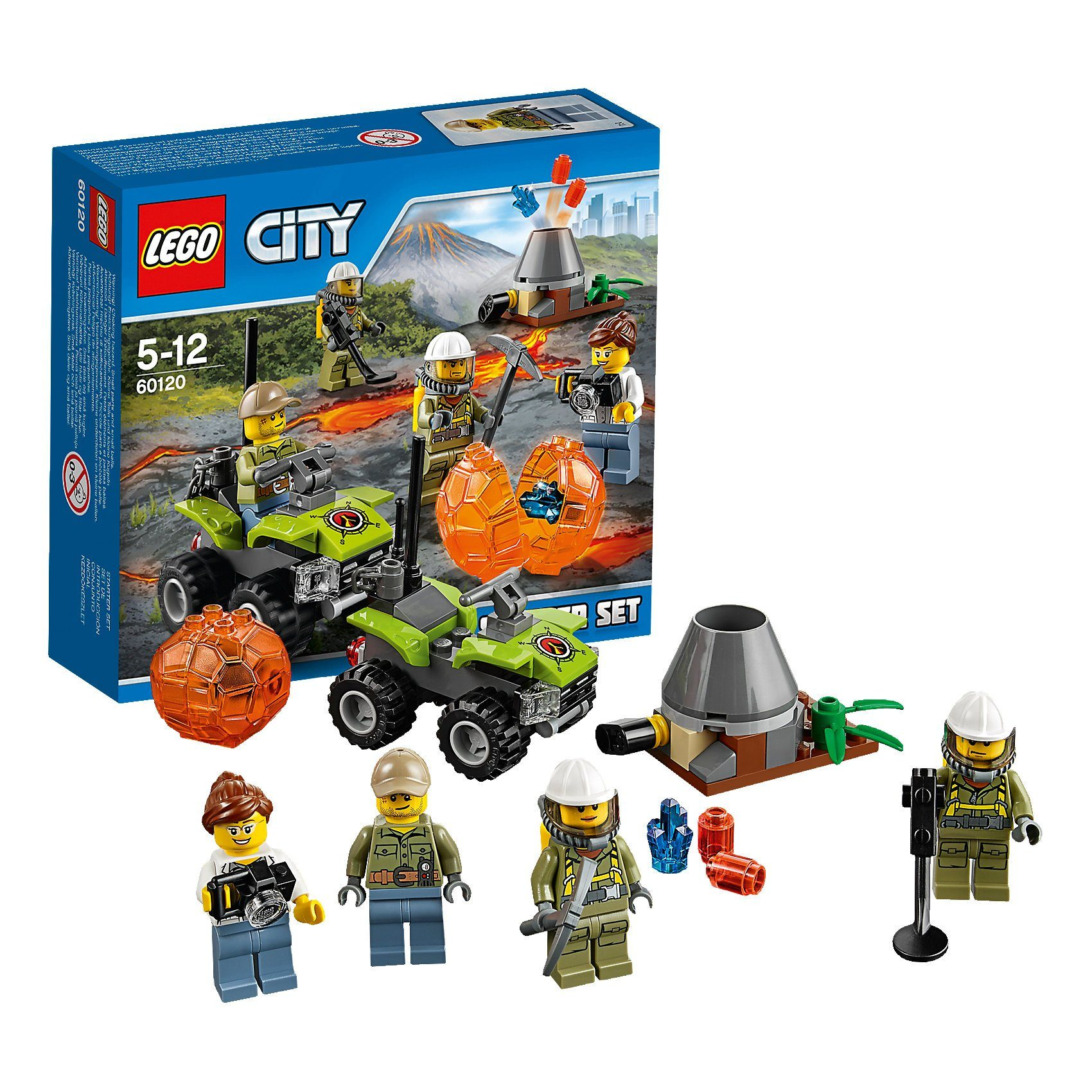 LEGO 60120 City: Vulkan Starter-Set
