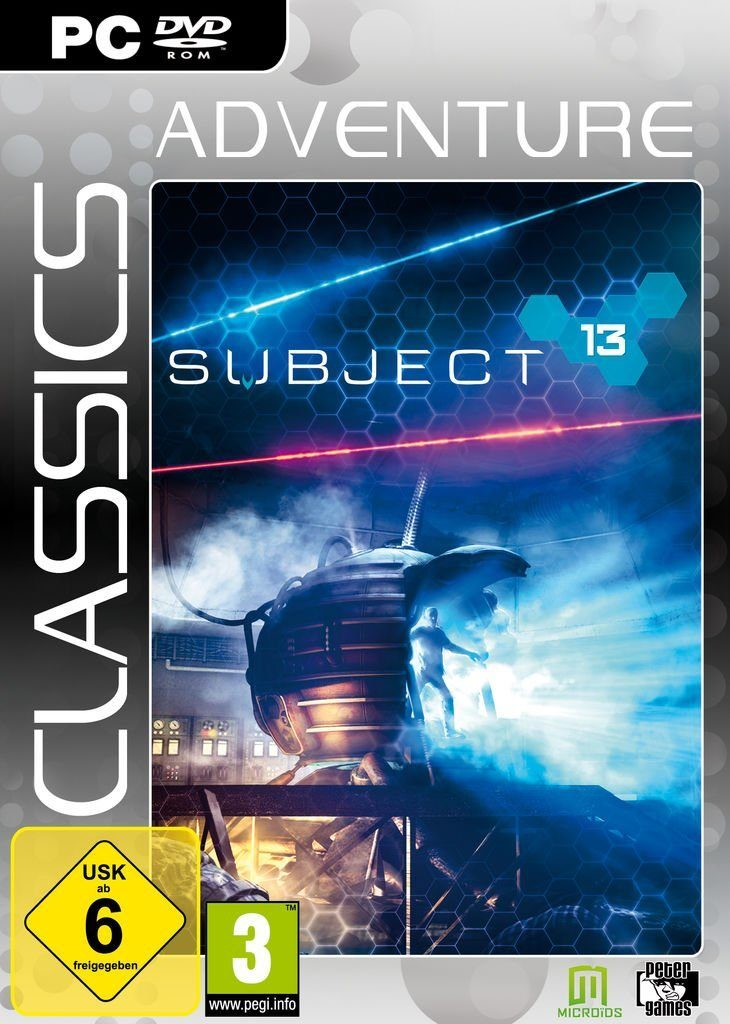 Morphicon PC - Spiel »Subject 13 (Adventure Classics)«