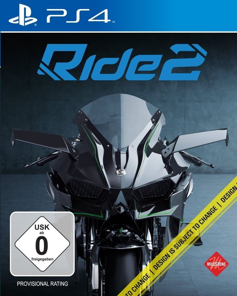 Milestone Playstation 4 - Spiel »RIDE 2«