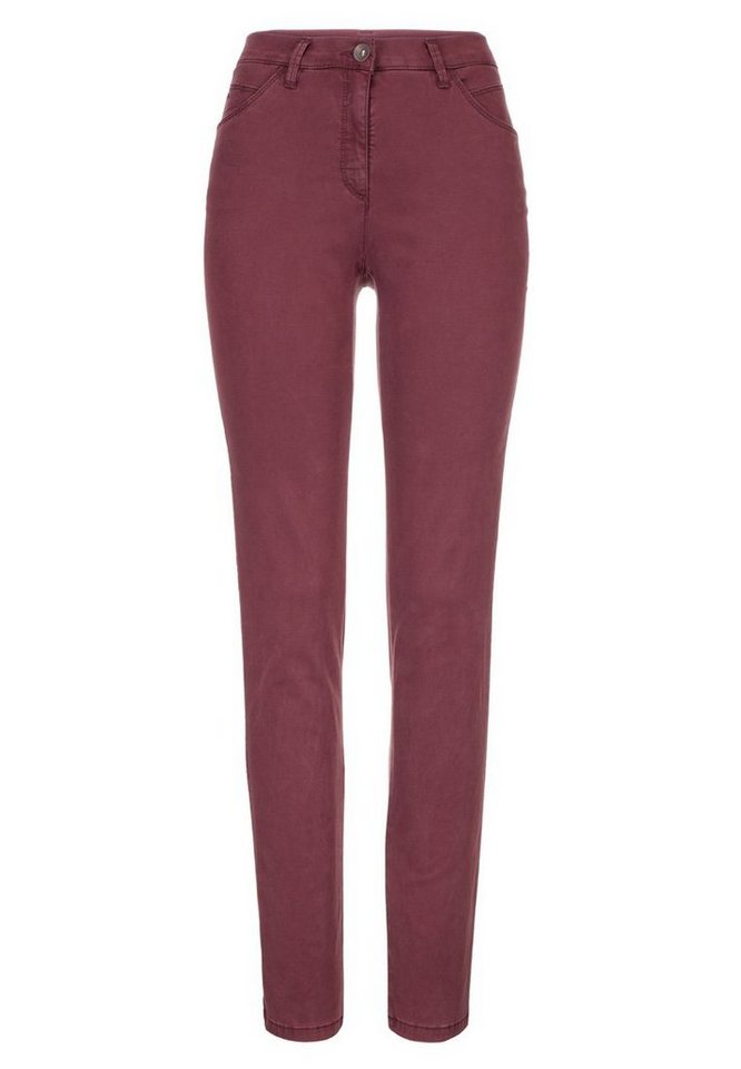 BRAX Hose »MARY TREND« in BURGUNDY