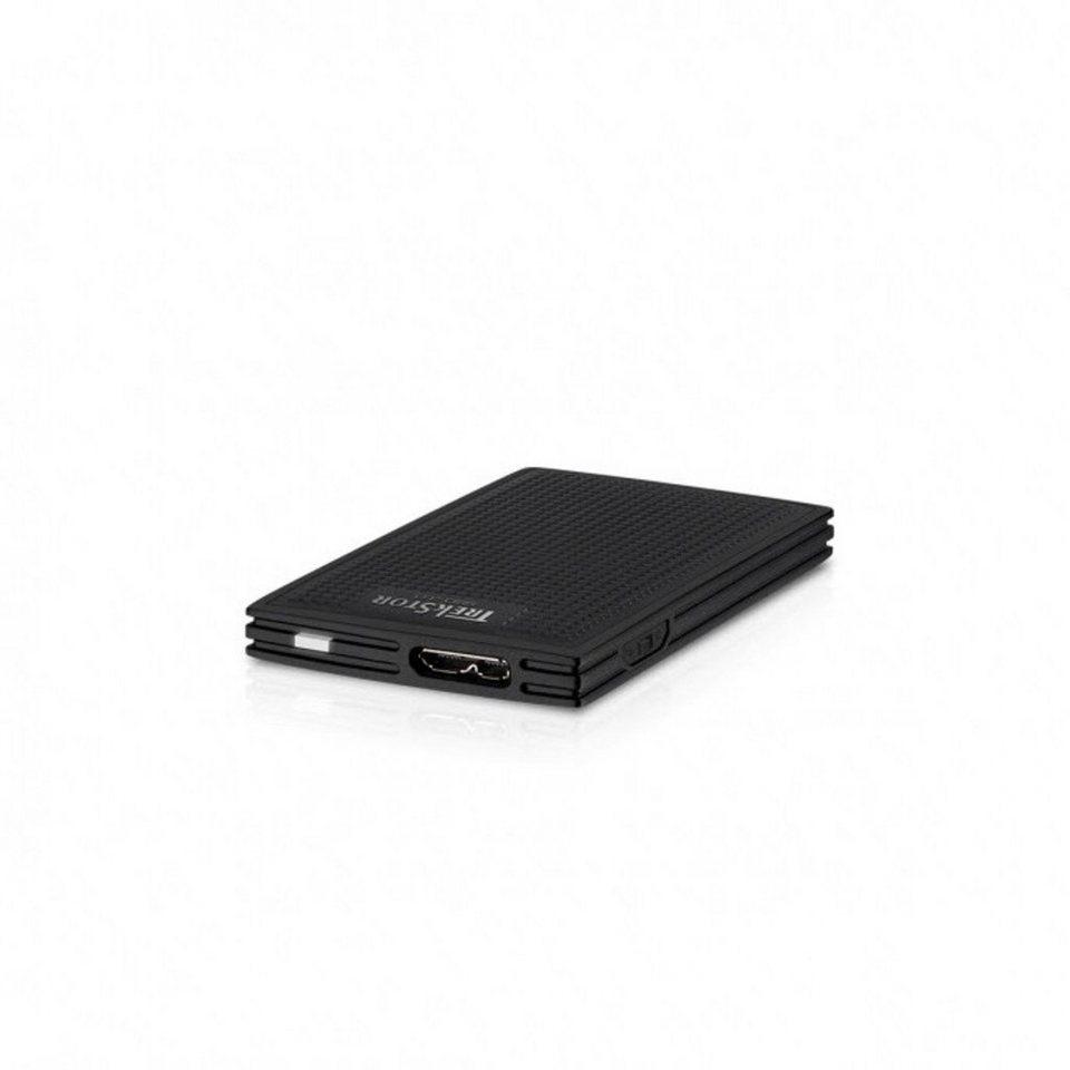 TrekStor Festplatte »DataStation picco SSD 3.0 128 GB mit Schreibschutz« in Schwarz