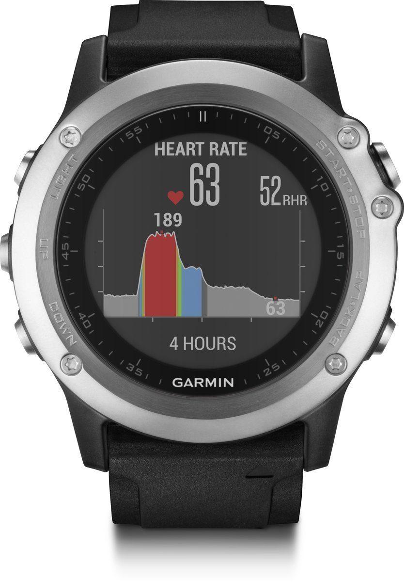 Garmin GPS-Multisportuhr »fenix 3 HR«