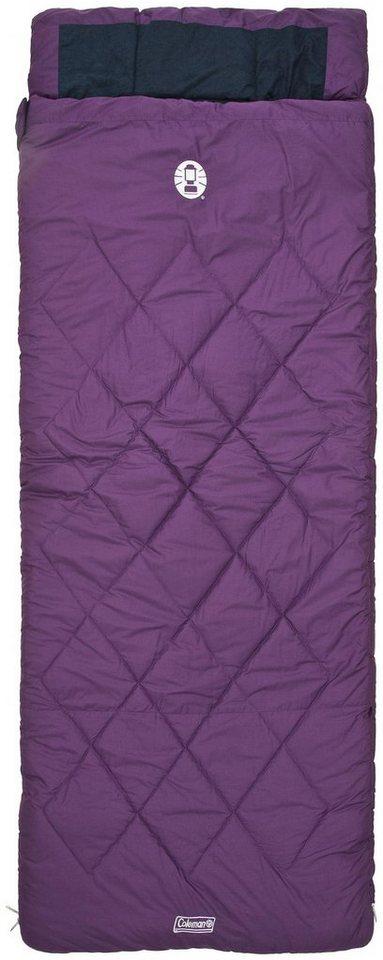 Coleman Schlafsack »Vail Comfort Sleeping Bag« in lila