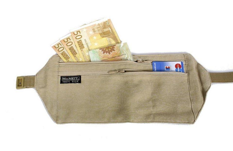 McNett Wertsachenaufbewahrung »Undercover Geldgurt« in weiß