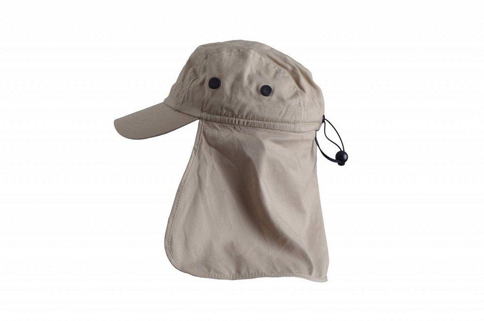 Basic Nature Hut »Legionärskappe mit Nackenschutz« in grau