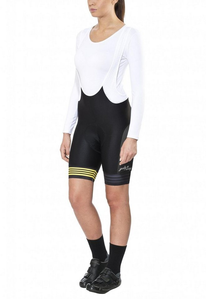 guilty 76 racing Radhose »Velo Club Pro Race Bib Short Women« in schwarz