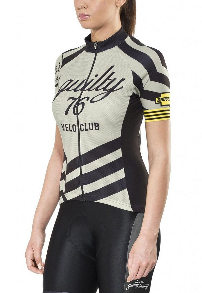 guilty 76 racing Radtrikot »Velo Club Pro Race Jersey Women« in grau