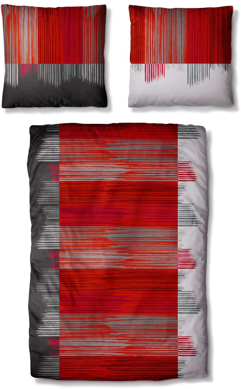Bettwäsche, Auro Hometextile, »Splay«, mit Strich-Muster