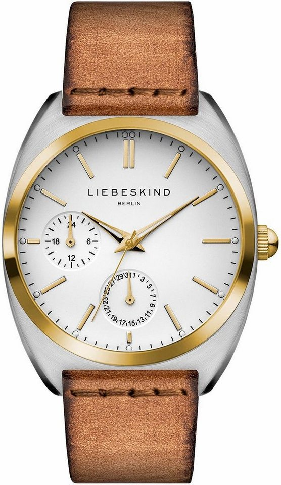 Liebeskind Multifunktionsuhr »LT-0042-LM« in braun