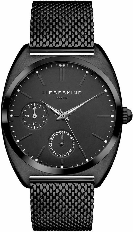 Liebeskind Multifunktionsuhr »LT-0040-MM« in schwarz