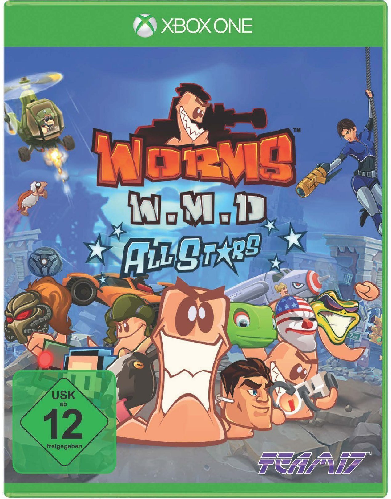NBG Worms Weapons of Mass Destruction (Worms W.M.D) »XBox One«