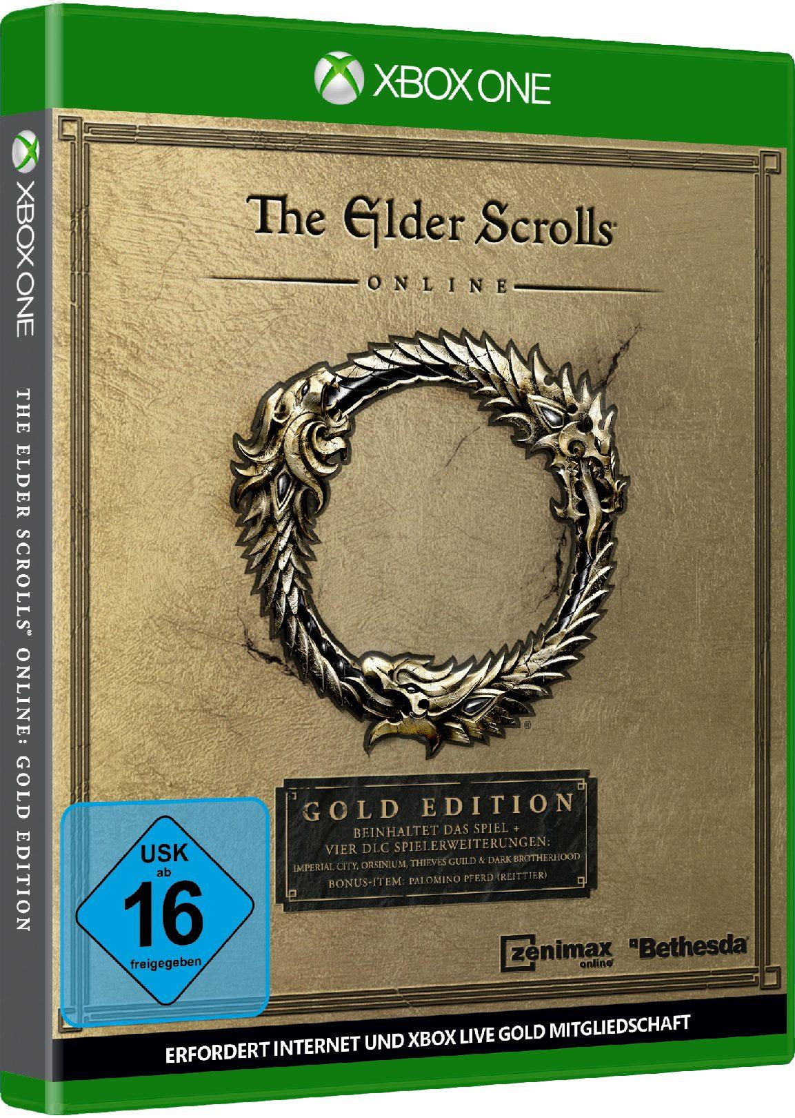 Bethesda The Elder Scrolls Online: Gold Edition »XBox One«