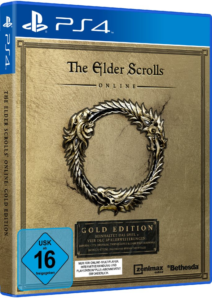 Bethesda The Elder Scrolls Online: Gold Edition »(PS4)«
