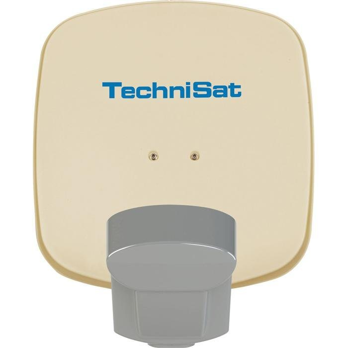 TechniSat Sat-Antenne 45cm mit QuattroSat-Single-LNB »Multytenne mit Quattro-Single-LNB« in beige