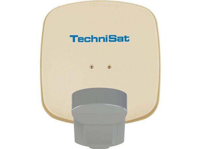 TechniSat Sat-Antenne 45cm mit QuattroSat-Single-LNB »Multytenne mit Quattro-Single-LNB«