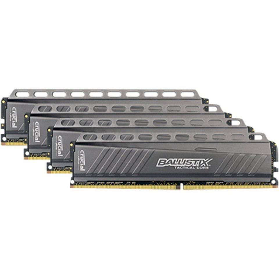 Crucial Arbeitsspeicher »DIMM 32 GB DDR4-3000 Quad-Kit«